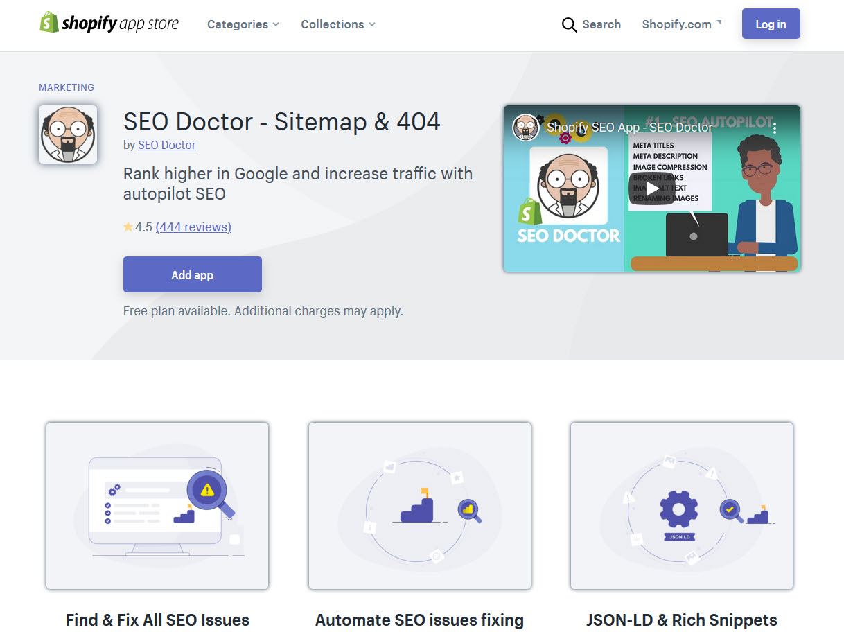 Best Practices to Boost Organic Traffic - SEO Doctor shopify SEO App