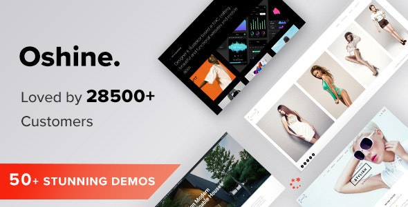 Oshine WordPress Multipurpose Theme