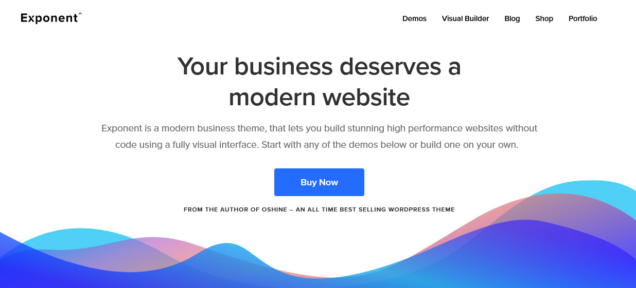 Exponent - How to Find a Creative WordPress Theme That Actually Works
