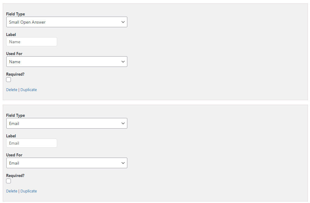How to Create a BuzzFeed Style Quiz using QSM Plugin - Creating a basic form to collect user details